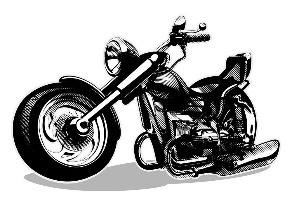 摩托车�:`'�fj9��:`(9.#�)��be�f_黑白摩托车图片