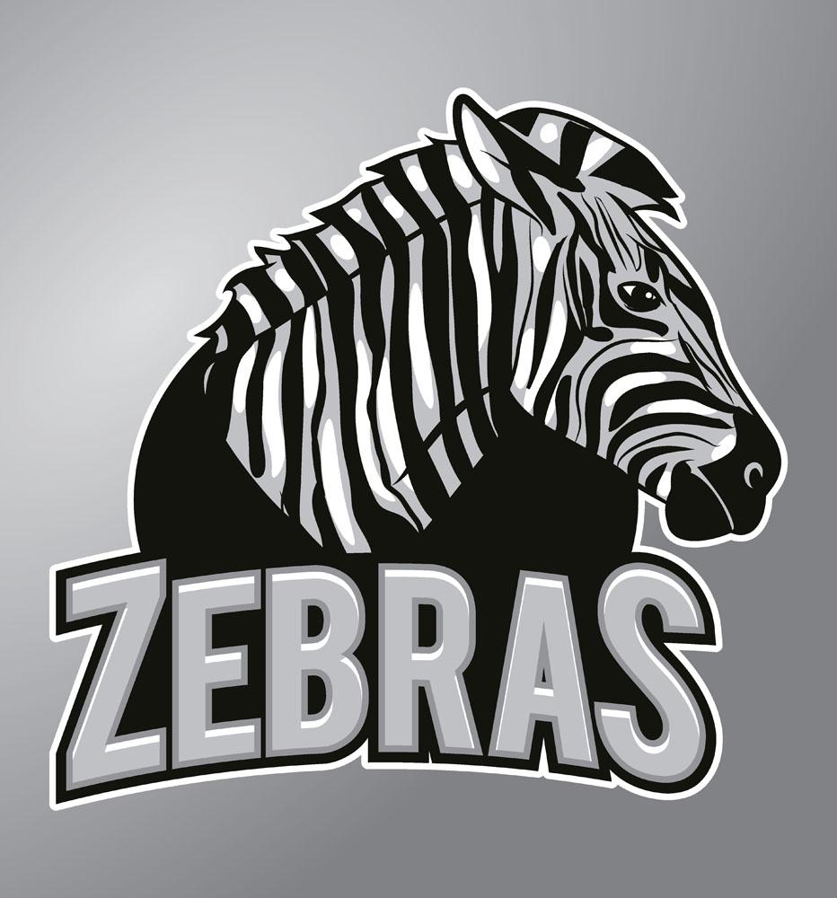 斑马卡通动物logo图片图片