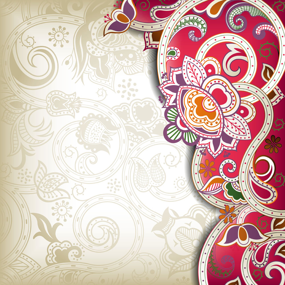 中国风花卉背景边框矢量素材下载-底纹背景-底纹边框-矢量素材 - 集图网 www.jituwang.com