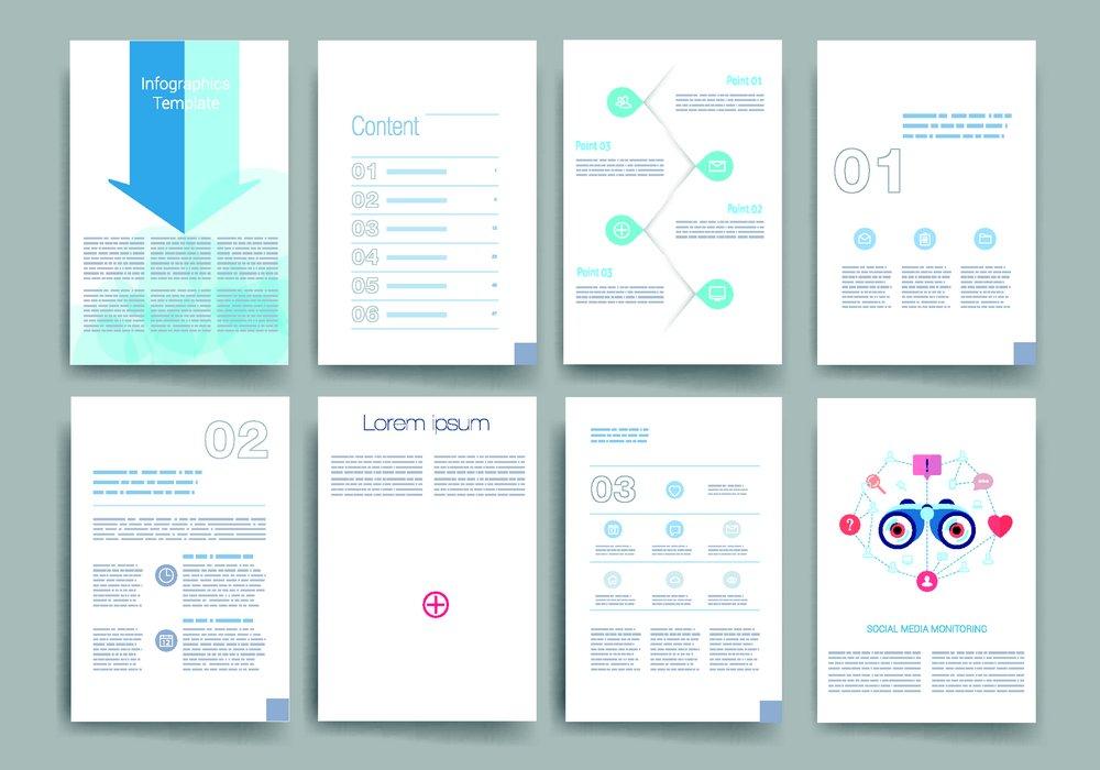 传单背景,时尚传单,传单版式,传单排版,画册,册子,简洁宣传单设计图片