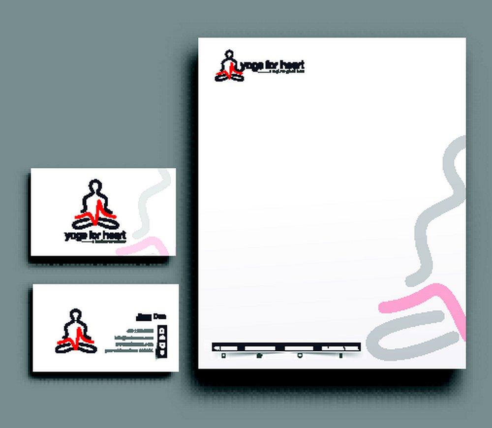 瑜伽logo设计,信签纸,信笺纸,名片设计,名片模板,创意名片版式,时尚图片
