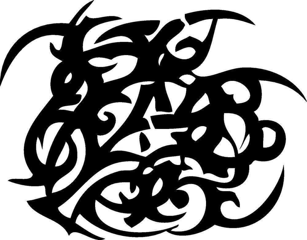 矢量纹身图案设计图片