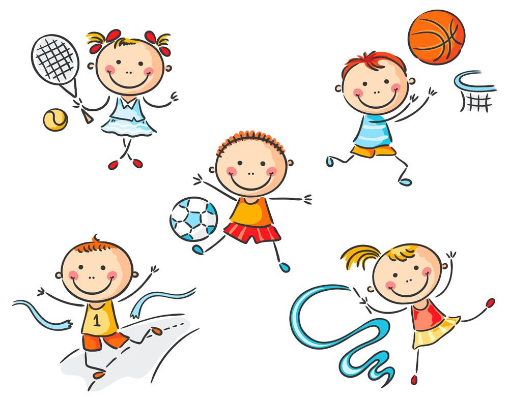 矢量人物 儿童幼儿 卡通小男孩,卡通小女孩,玩耍的儿童,小朋友,快乐图片