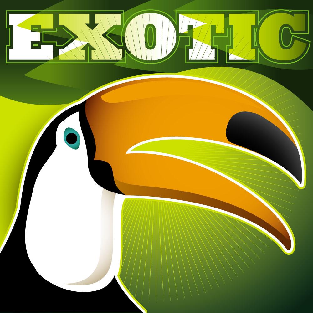 集图网 矢量素材 生物世界 陆地动物 乌鸦海报,可爱卡通动物,动物世界图片