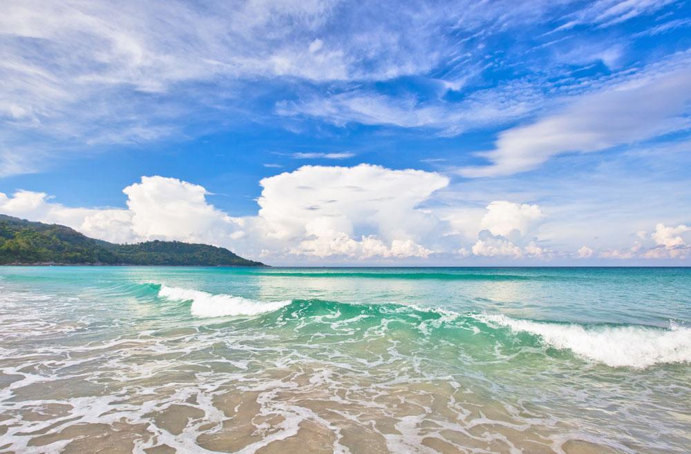 美丽海滩景色