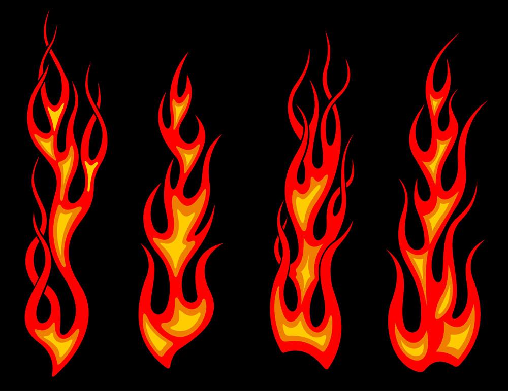 火焰纹身图片