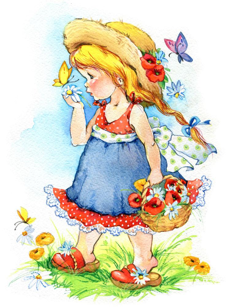 漂亮可爱的小女孩漫画