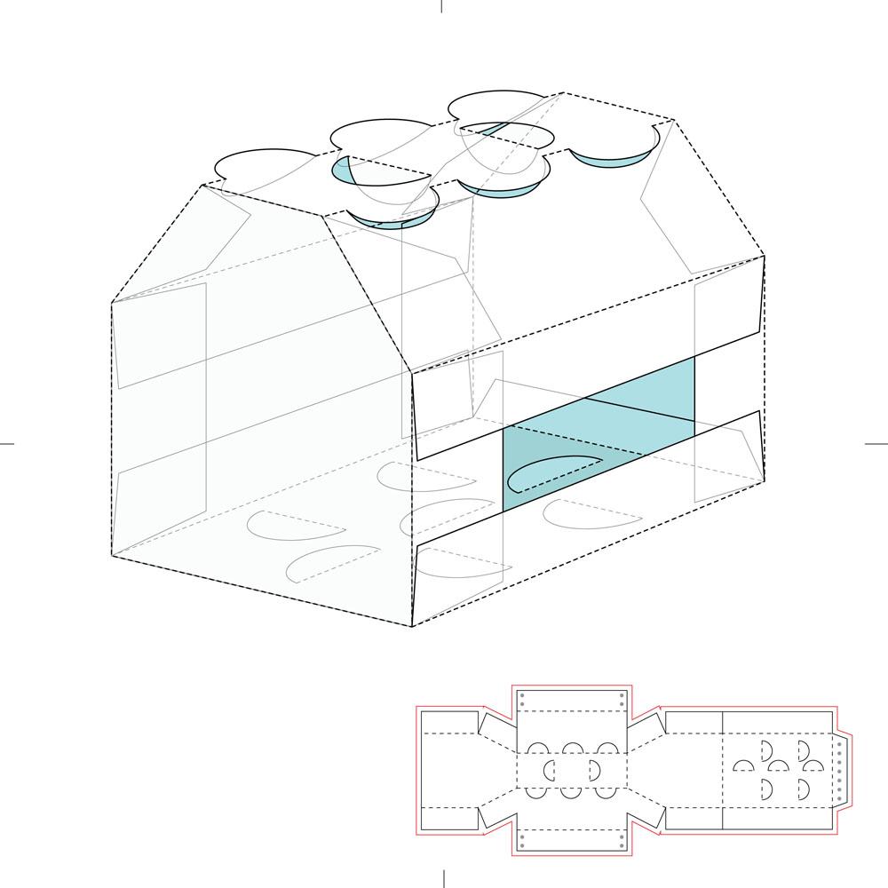 包装设计 时尚长方形包装盒设计,纸盒设计,包装盒设计,包装盒展开图图片
