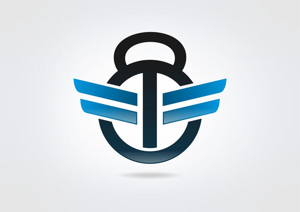 创意运动logo矢量素材下载-行业标志-标志图标-矢量图片