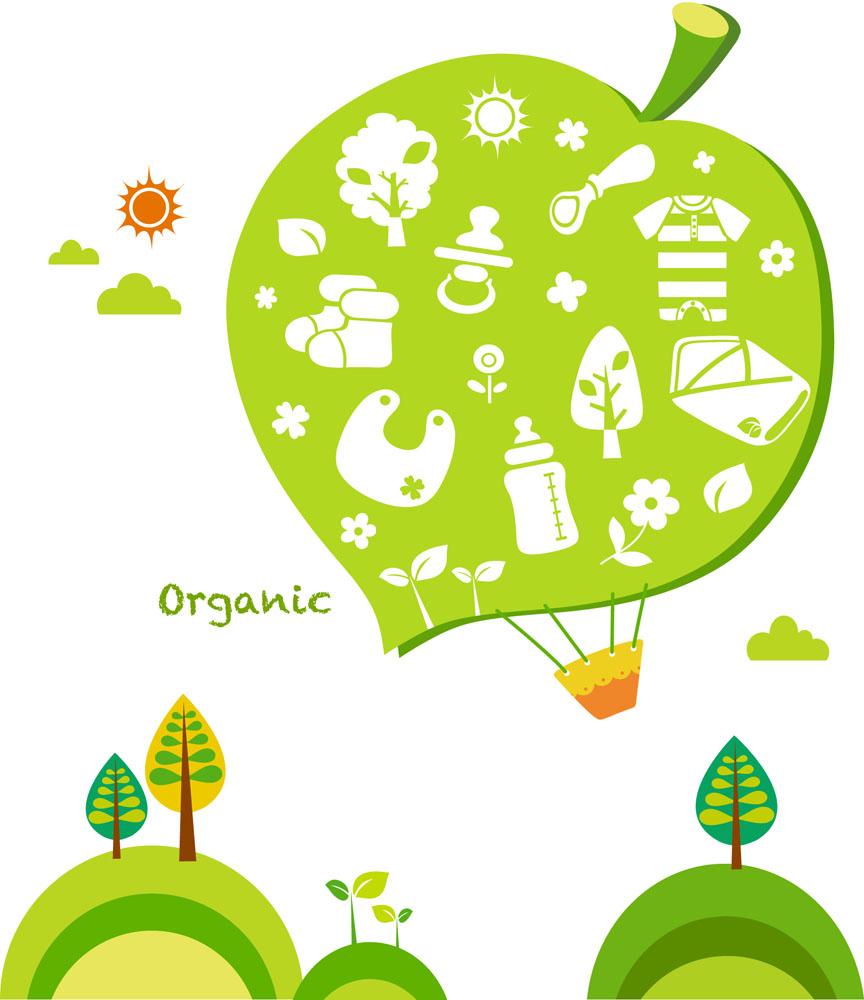 树木花纹,时尚花纹,时尚潮流图案,矢量植物插画,花草树木,卡通形象图片