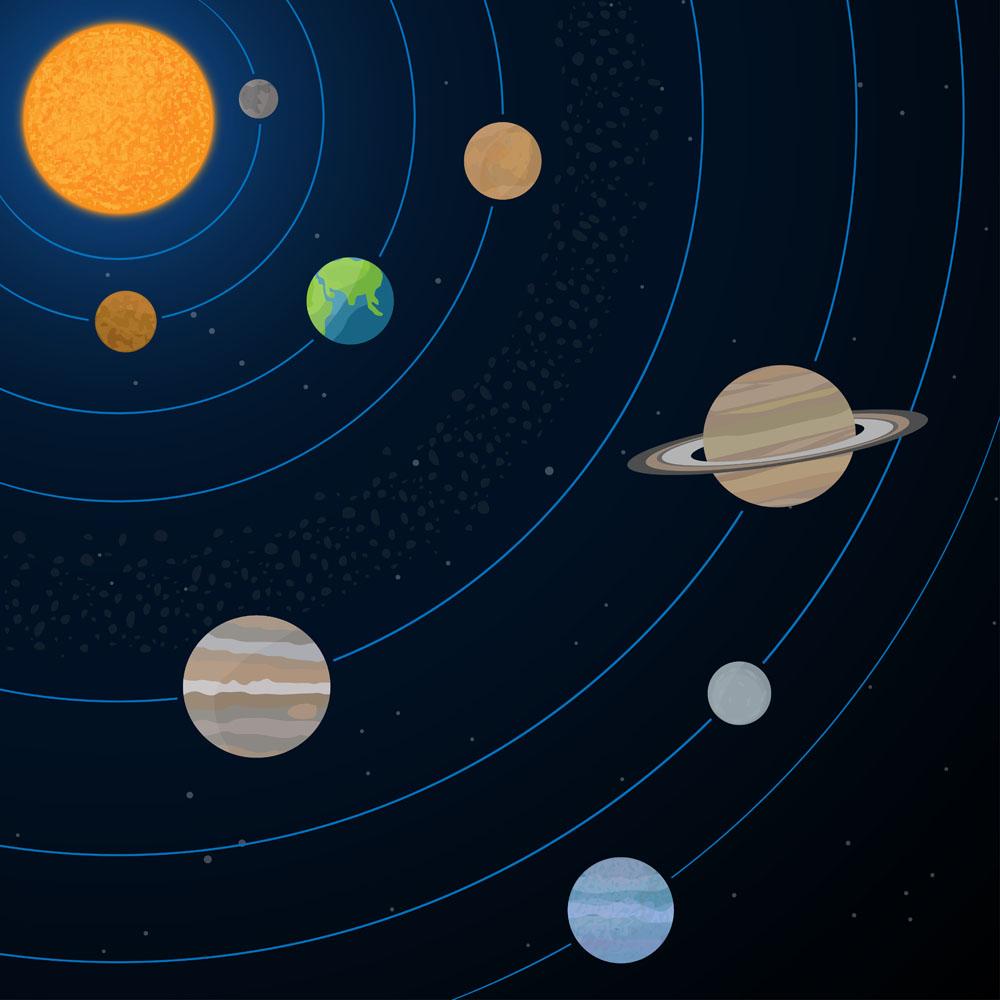 神秘的第九大行星,是冥王星判级失误的罪魁祸首?图片