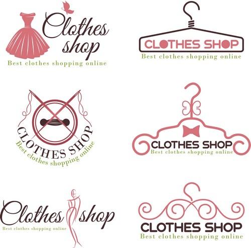 商标设计,企业logo,公司logo,行业标志,标志图标,女性服装店标志,行业图片
