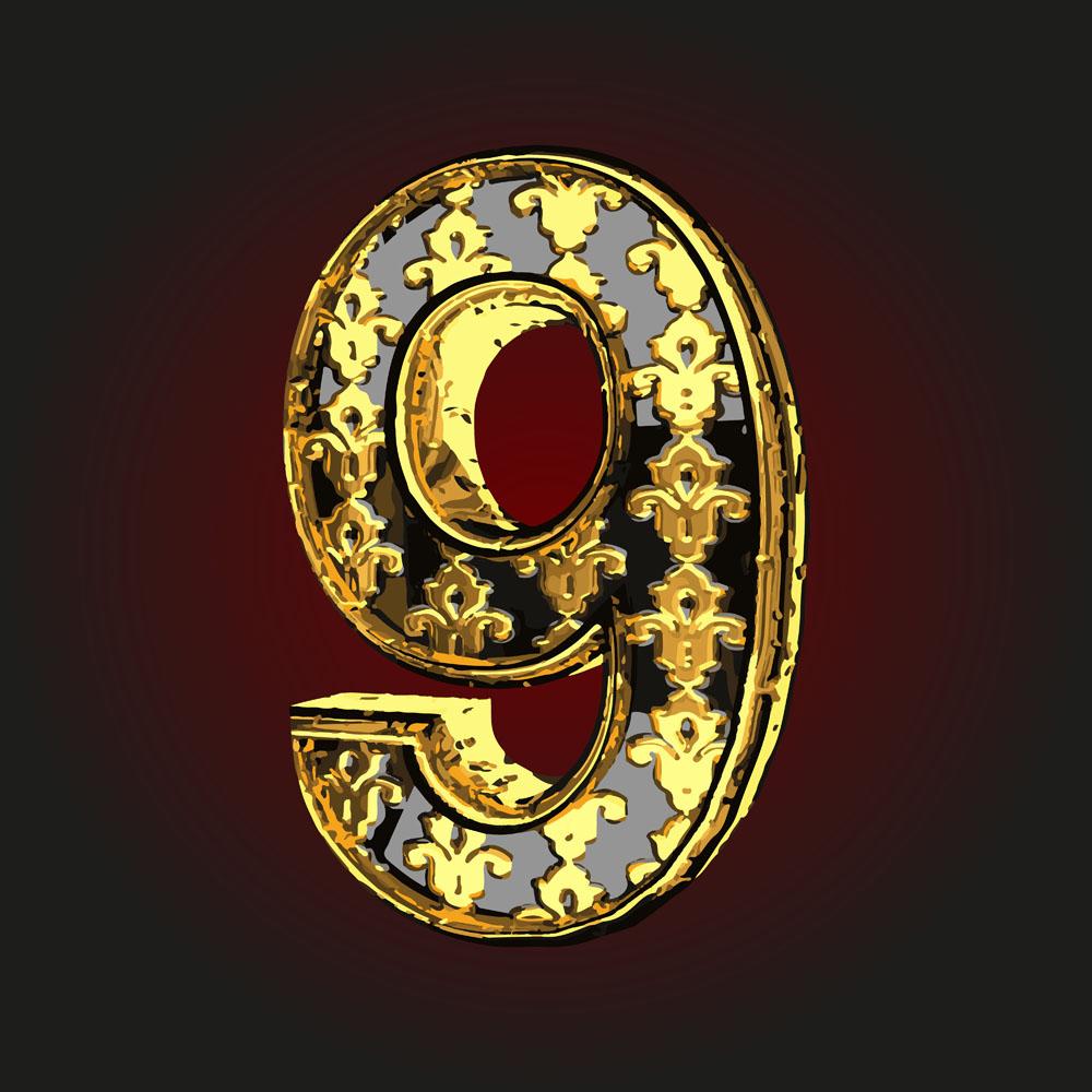 個性創意阿拉伯字體,彩色數字樣式,性時尚數字,阿拉伯數字樣式,字母圖片