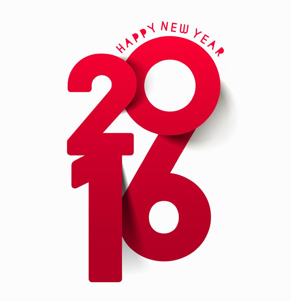 红色创意2016年字体模板下载,创意2016年字体,2016年艺术字,2016新年图片