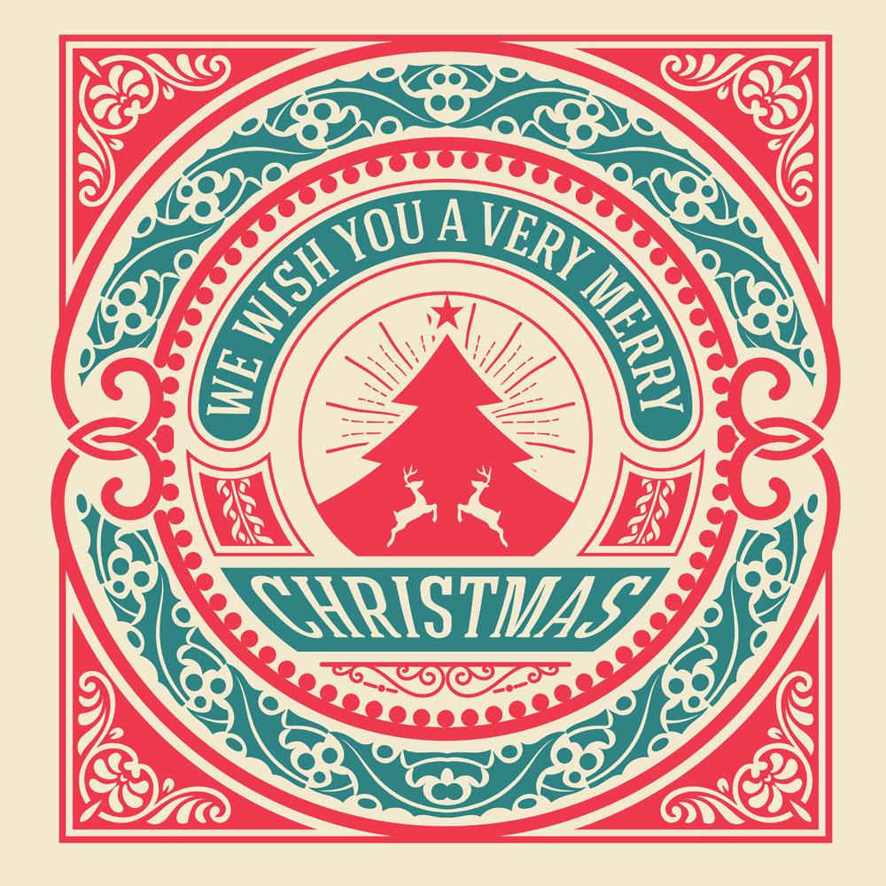 圣诞节标志图案矢量素材下载-行业标志-标志图标-矢量图片