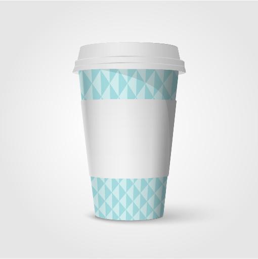 咖啡纸杯效果图图片