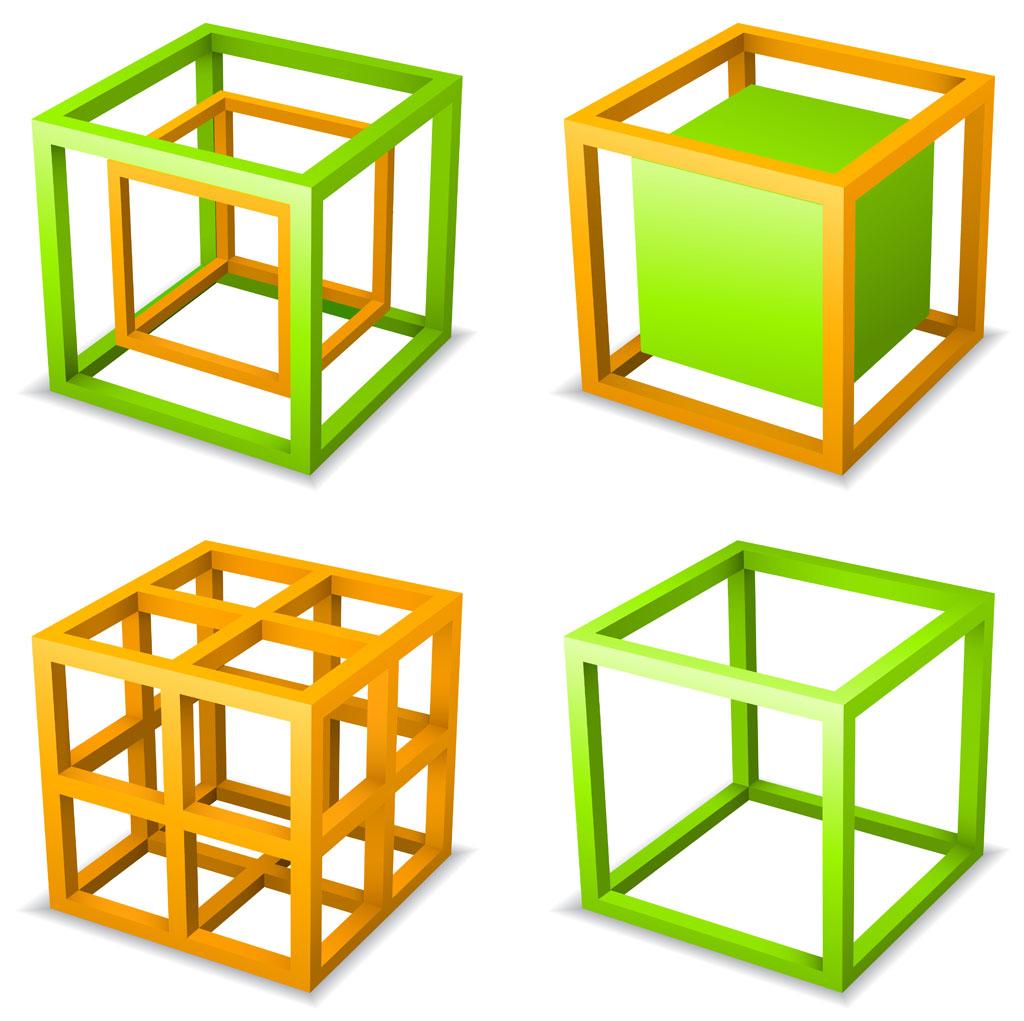> 几何图形_好看的几何图形图片  线条方形几何图形背景矢量素材下载图片