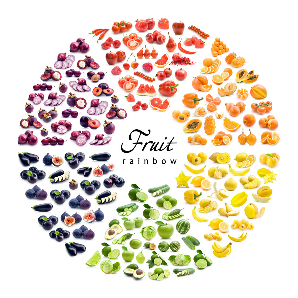水果圆形拼图 图片素材下载-水果蔬菜-餐饮美食-图片图片