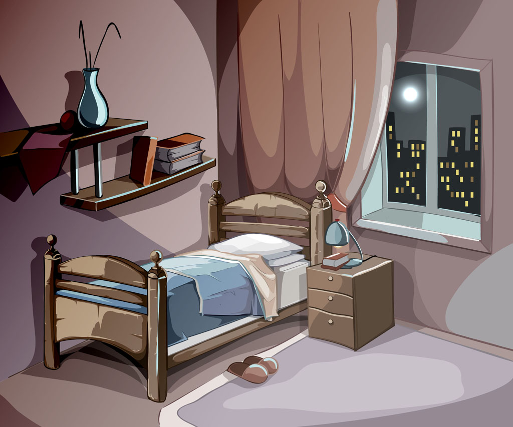 晚上来我表情人生表情包呀叼烟房间图片