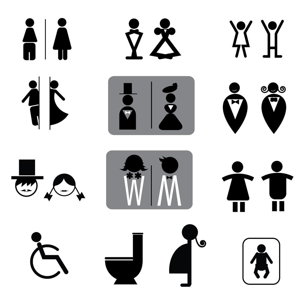 卫生间标志图片大全 卫生间的标志图片 最新男女卫生间标志图 泰国卫生间标志图片 最奇葩的卫生间标志 卫生间卡通标志大全