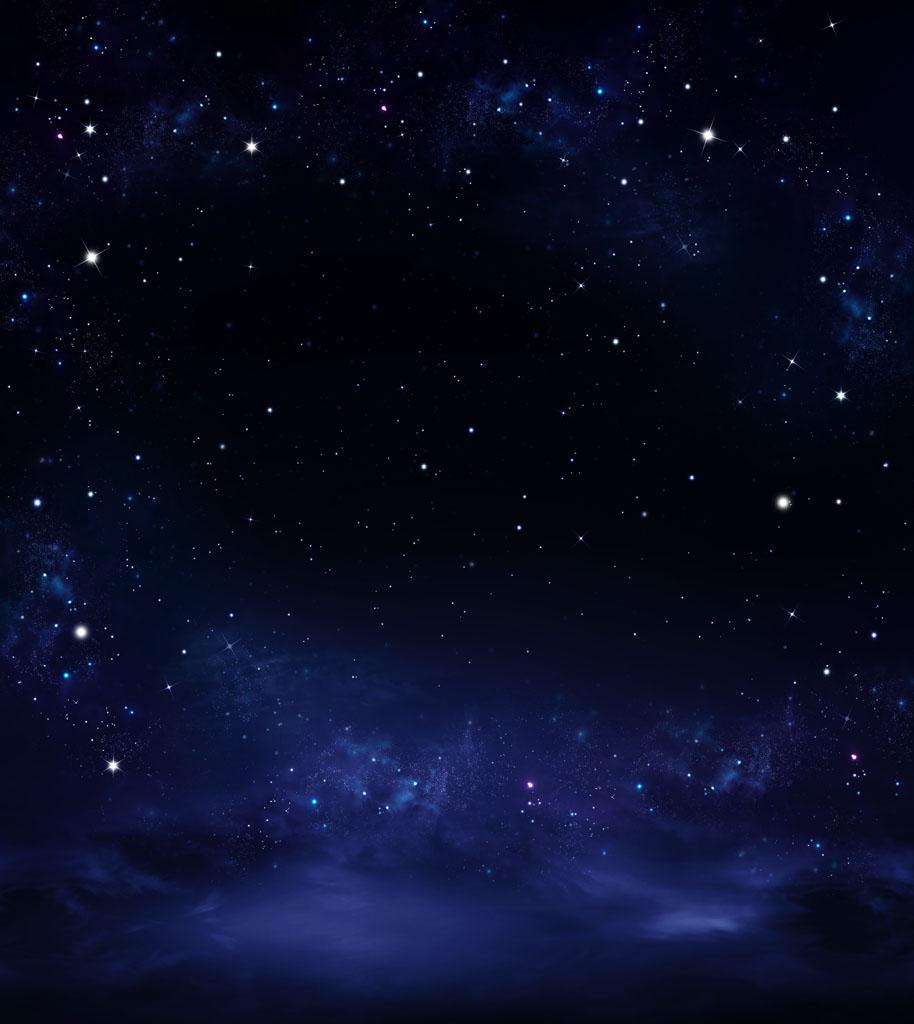蓝色星空宇宙背景 图片素材下载-底纹背景-背景花边-图片素材 - 集图片