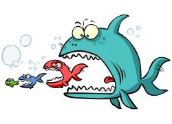 群鱼吃大鱼图片,小鱼吃大鱼漫画_大鱼吃小鱼矢量图片,大鱼吃小鱼矢量图片图片,大鱼吃小鱼矢量 ...