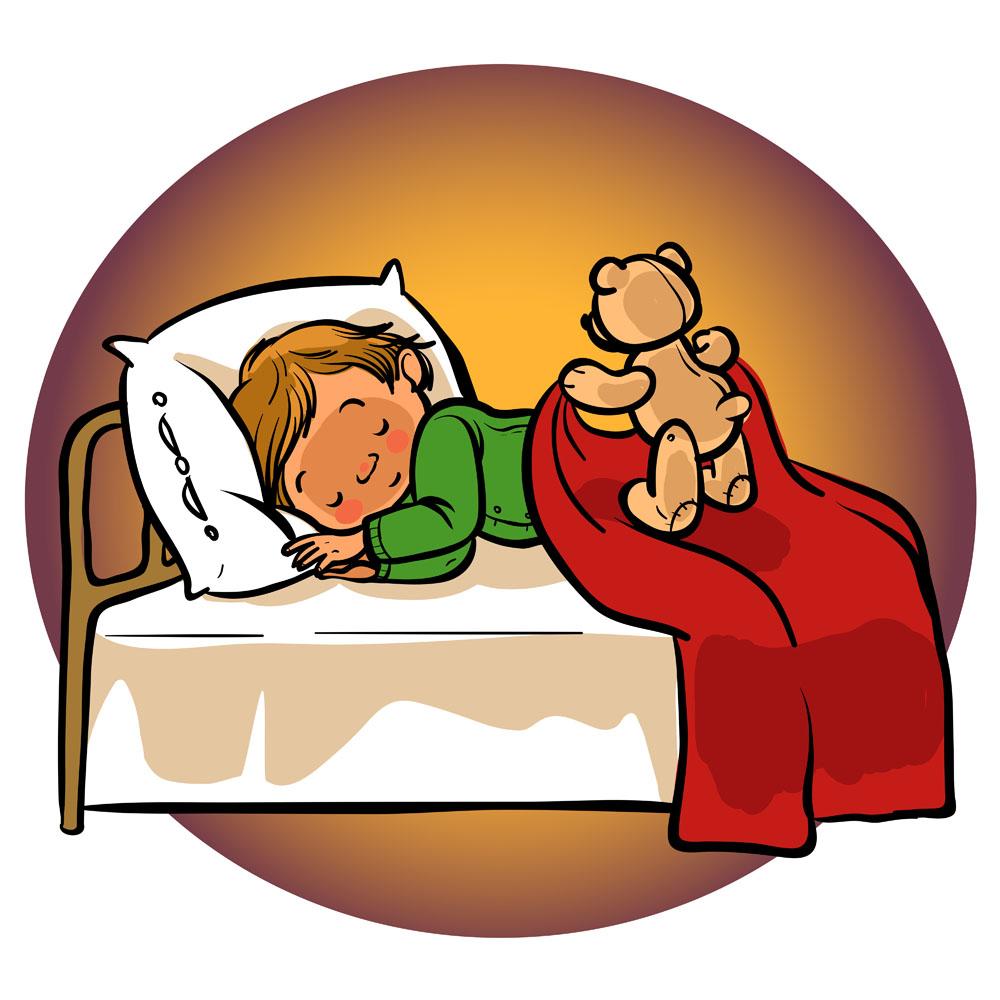 棕色圆圈,睡觉,卡通小孩,卡通人物,插图,插画,卡通插图,卡通插画,卡通图片