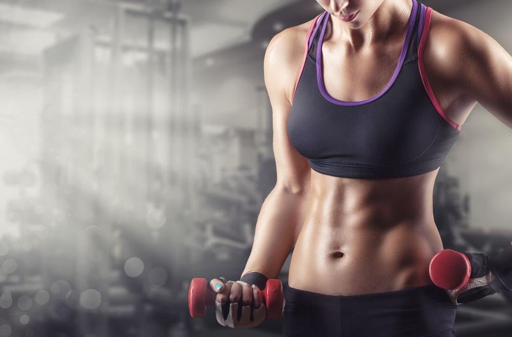 健身房女孩 图片素材下载-女性女人-人物图库-